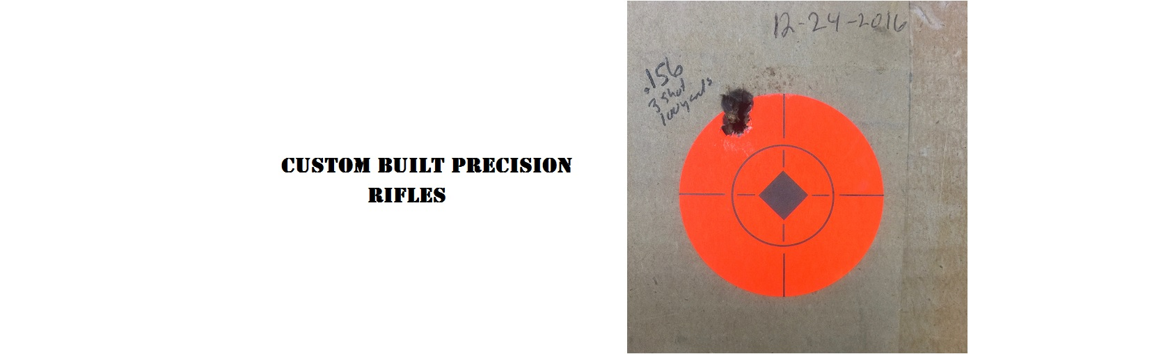 Precision Rifle Series rifles
